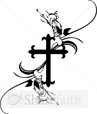 French Cross Clipart   Cross Clipart
