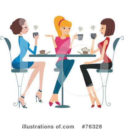 Girlfriends Clipart  76328   Illustration By Bnp Design Studio