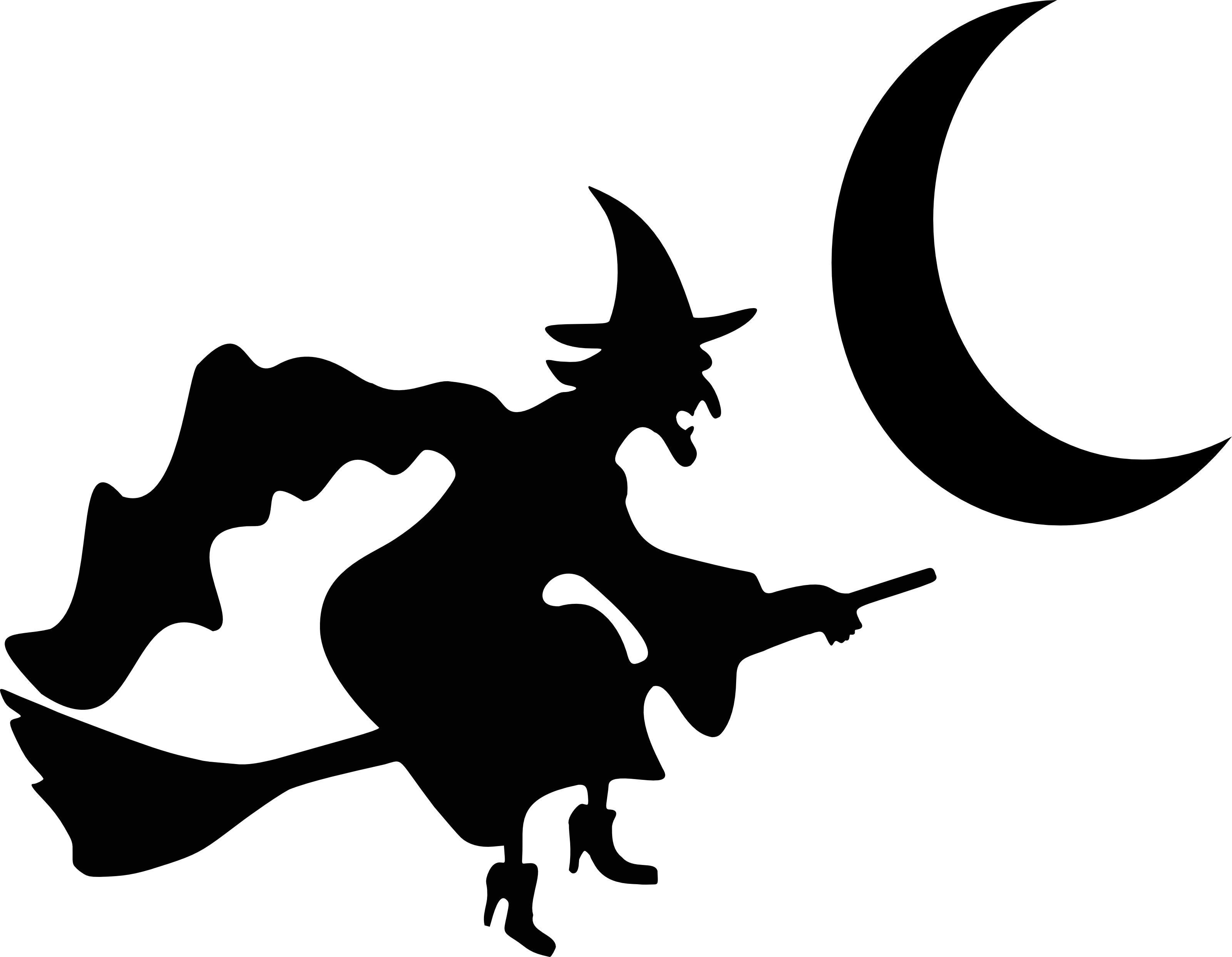 Full Halloween Moon Clipart - Clipart Kid