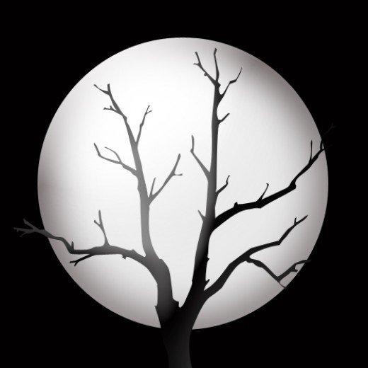 Clip Art Full Moon Clipart halloween tree full moon clipart kid silhouette clip art