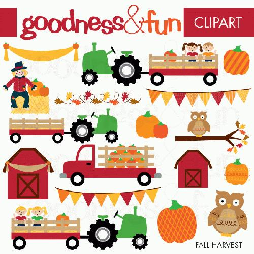 Harvest Clipart My Grafico  Fall Harvest