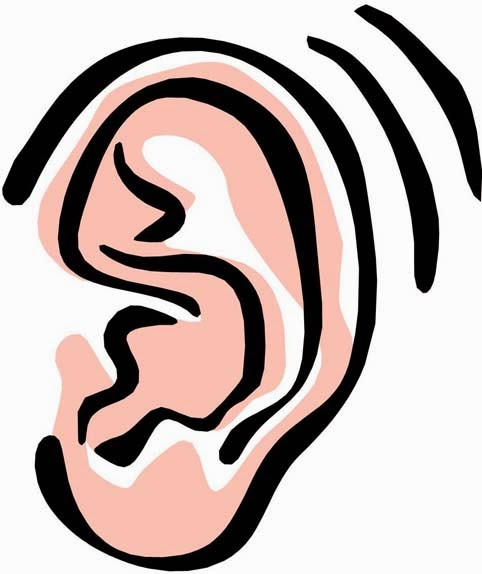 Clip Art Clipart Ear listening ears clipart kid listener ear clip art 14 jpg