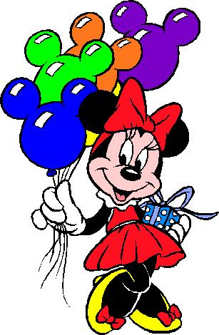 Minnie Mouse Birthday Clipart   Clipart Panda   Free Clipart Images