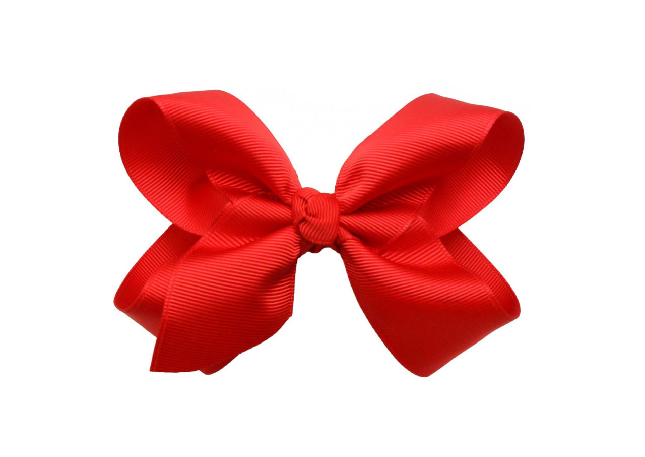Red Hair Bow Clipart Red Hair Bow Clip Art Red