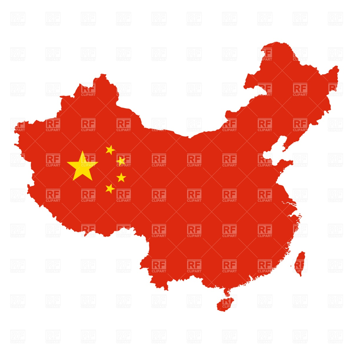 China Map Outline Download Royalty Free Vector Clipart  Eps