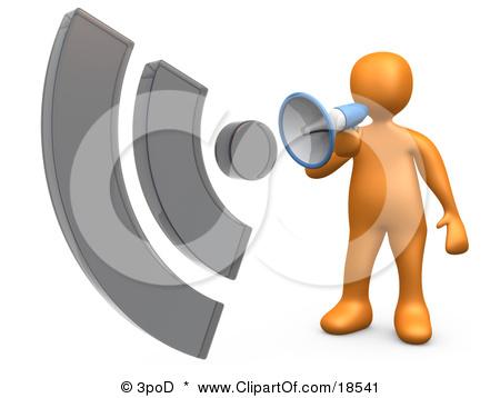 Person Speaker Clipart