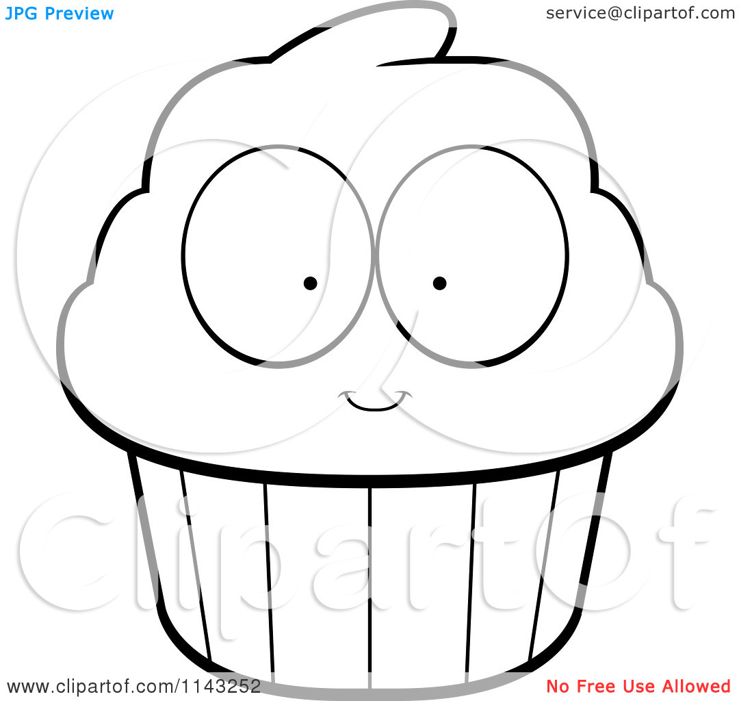 cute cupcake black and white clipart clipart kid Outline Cupcake Clip Art Border Outline Cupcake Clip Art with Sprinkles
