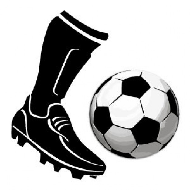 Foot Kicking Soccer Ball   Clipart Panda   Free Clipart Images