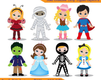 Costume Party Clipart - Clipart Suggest