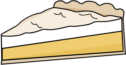 Pie Clipart Lemon Meringue Pie Png