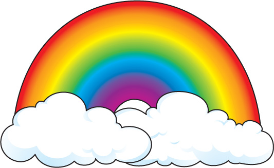 Rainbow And Sun Clipart Rainbow Jpg
