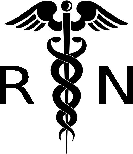 Clip Art Nursing Clip Art nurse symbol clipart kid registered clip art rn cadeuces vector
