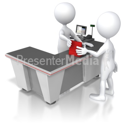 Retail Check Out Counter   Business And Finance   Great Clipart For