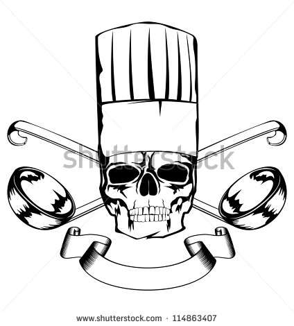 Skull Chef Stock Photos Images   Pictures   Shutterstock