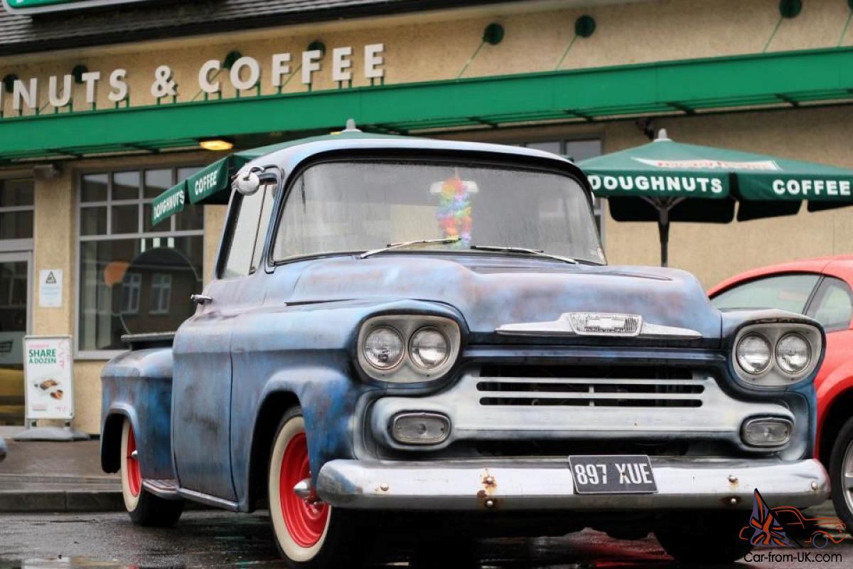 1959 Chevy Apache Trucks For Sale Clip Art B44kxm