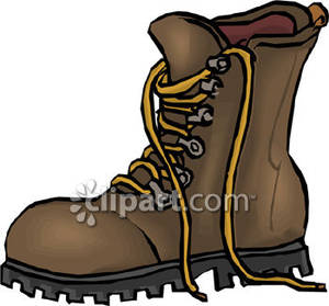 Boot Clipart Hiking Boot Royalty Free Clipart Picture 081125 044141