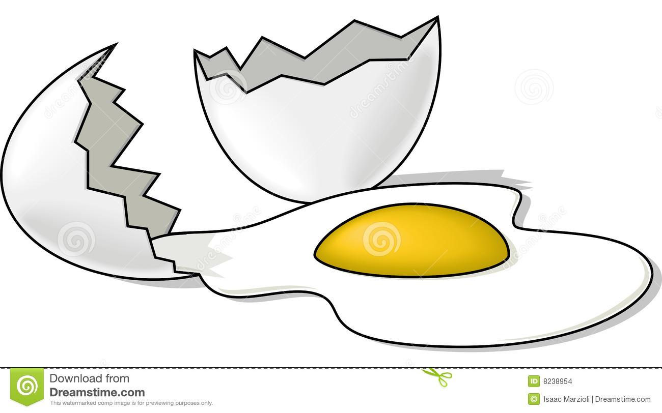 Clip Art Cracked Egg Whites Clipart - Clipart Kid