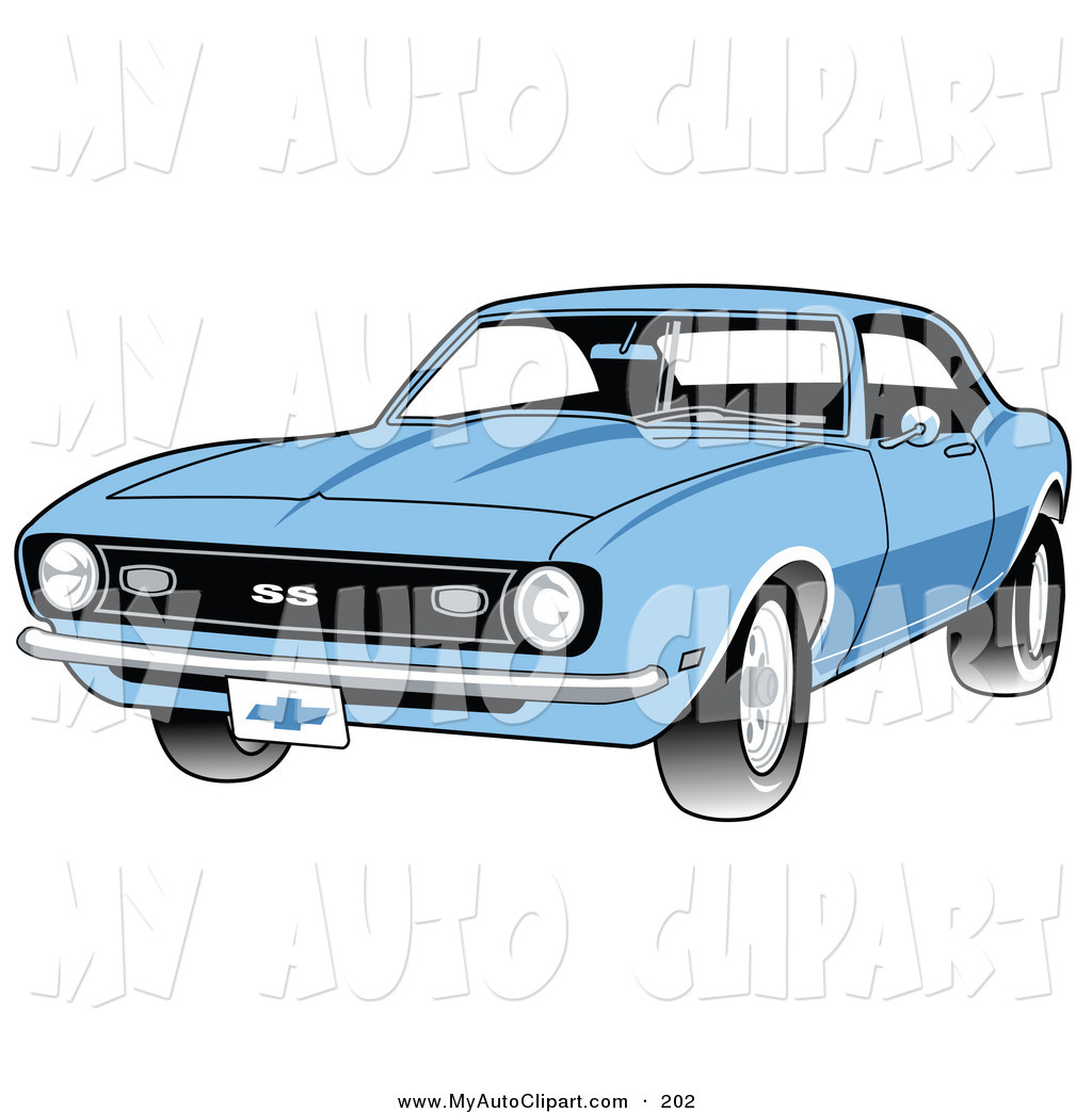 Car With A Chrome Bumper Auto Clip Art Andy Nortnik