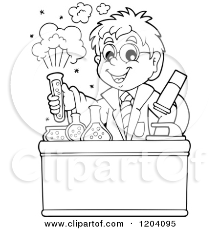 chemistry black white clipart clipart kid
