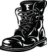 Combat Boots Illustrations And Clip Art  16 Combat Boots Royalty Free