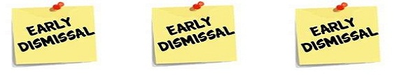 Due To The Parent Teacher Conference Day We Will Have Early Dismissal