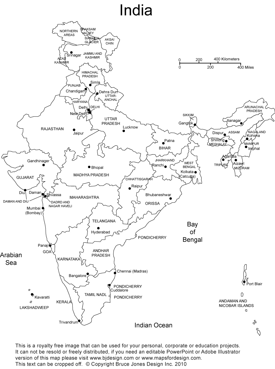 India Map Clipart Black And White Image Galleries   Imagekb Com