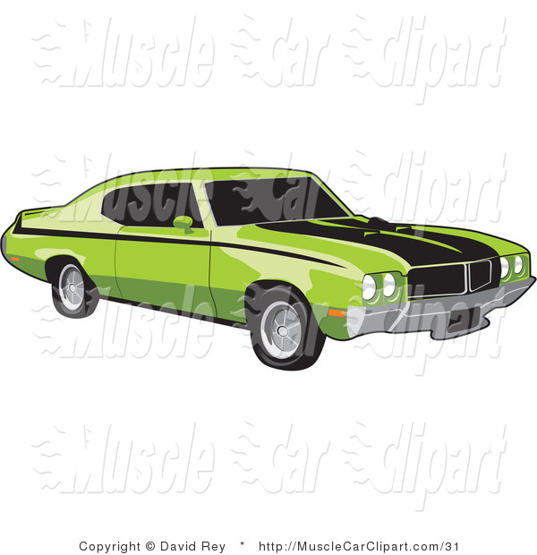 Muscle Car Clip Art