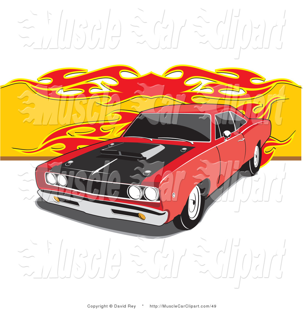 Muscle Car Clip Art For Pinterest