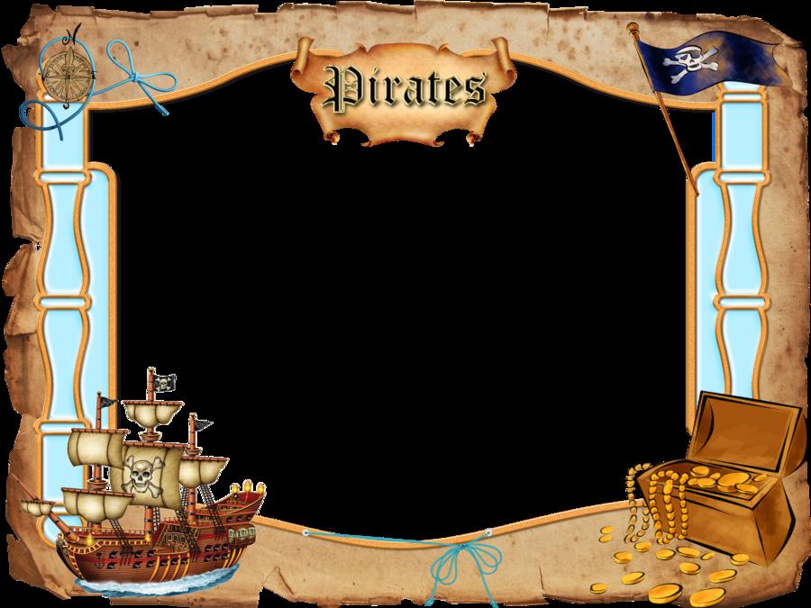 Pirate Border Clipart - Clipart Kid