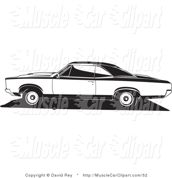 Pontiac Gto Muscle Car Muscle Car Clip Art David Rey