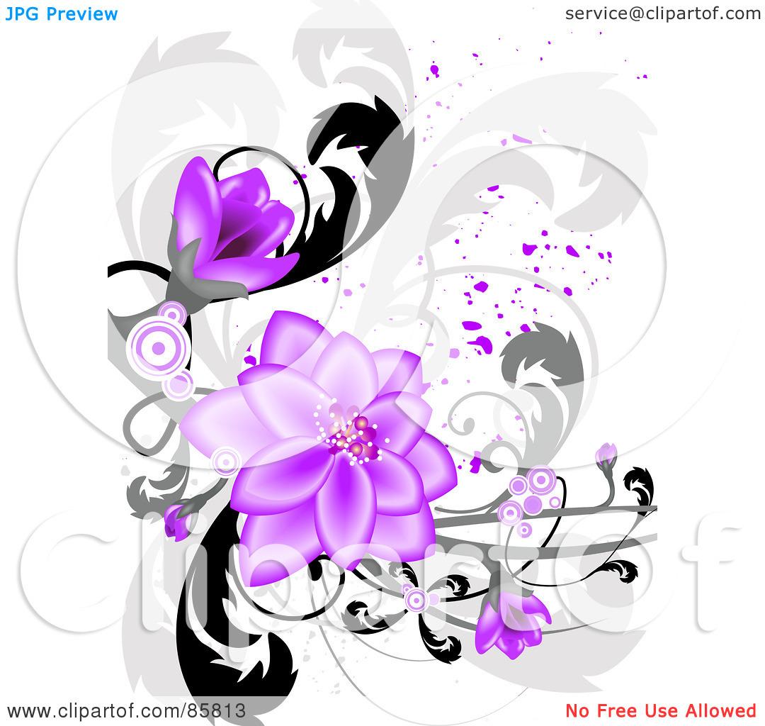Purple Wedding Clip Art Borders   Clipart Panda   Free Clipart Images