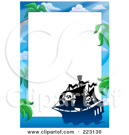Royalty Free  Rf  Pirate Border Clipart   Illustrations  1
