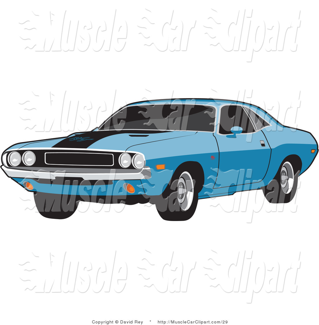 White Buick Muscle Car Muscle Car Clip Art David Rey