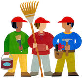 Yard Work Clean Up Clip Art Yardwork Arena Cleanup