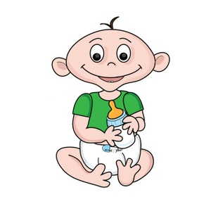 Happy Baby Clipart - Clipart Kid
