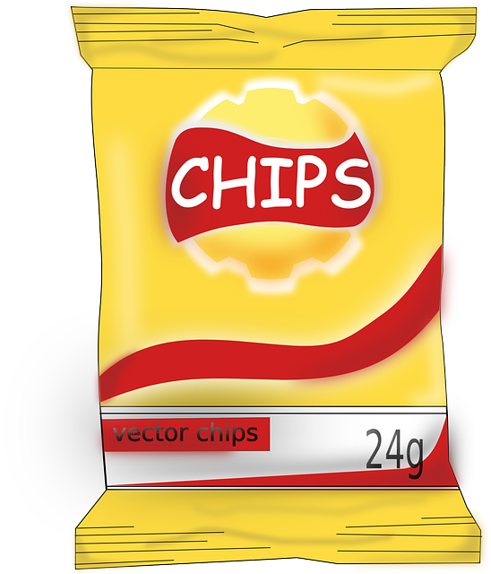 Chips Food Yummy Tasty Junk Food Fast Food Snack
