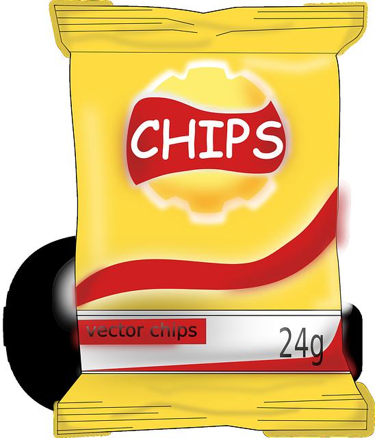 Chips Food Yummy Tasty...