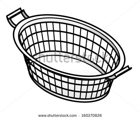 Clothes Basket Stock Photos Images   Pictures   Shutterstock