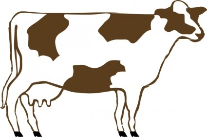 Cow Clip Art Free Vector In Open Office Drawing Svg    Svg   Format