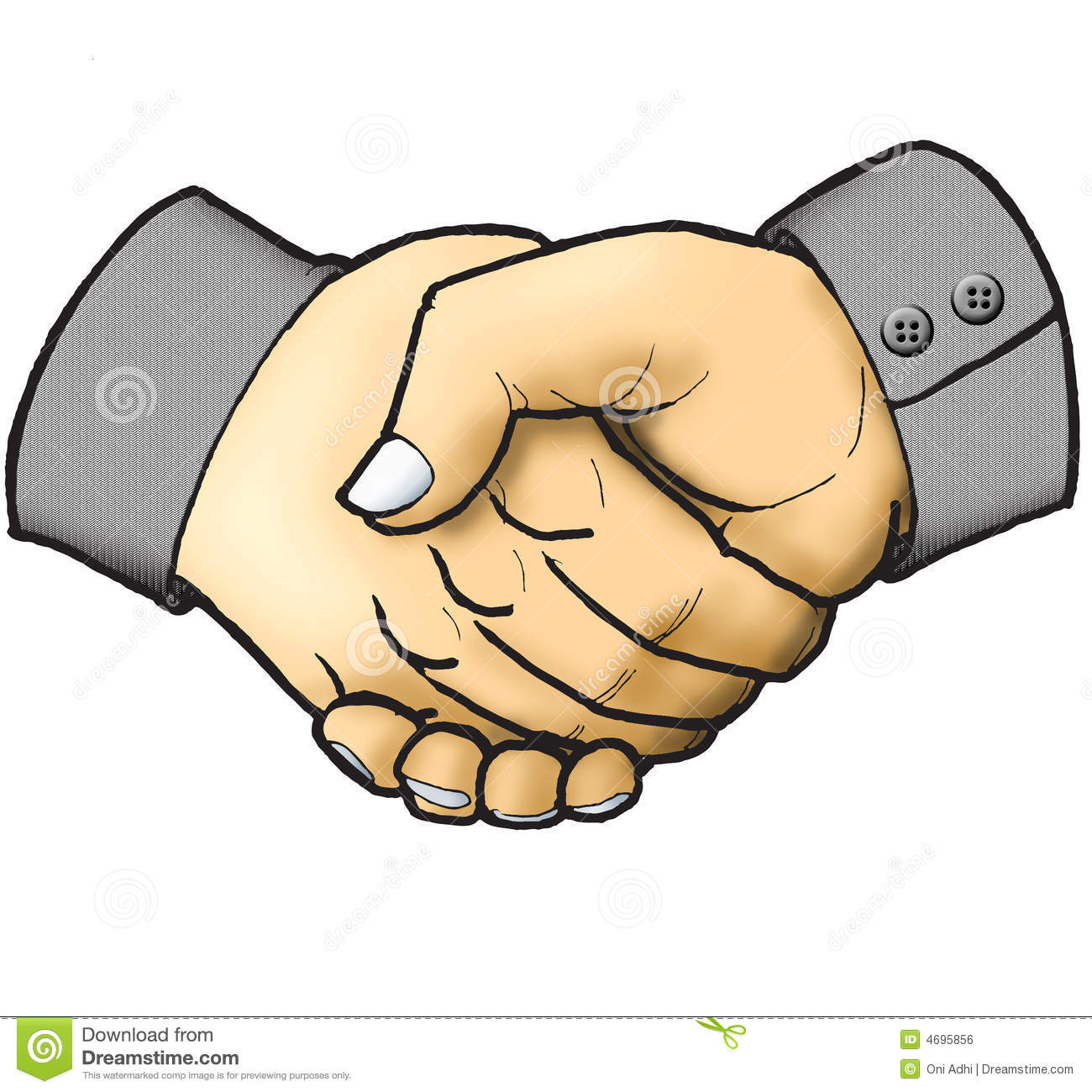 Two People Shaking Hands Clipart - Clipart Kid