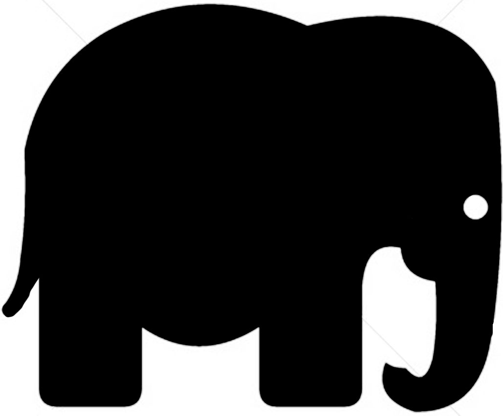 clipart panda elephant - photo #13