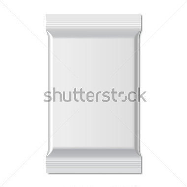 File Browse   Food   Drinks   White Blank Foil Food Snack Sachet Bag