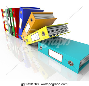 Organized Binder Clipart Organized Binde...