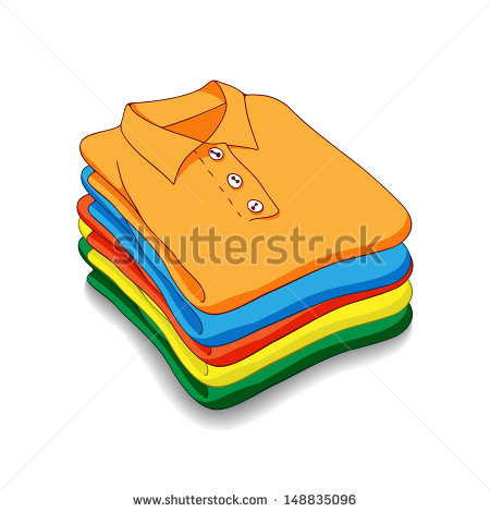 Fold Laundry Clipart Pile Of Clothes Stock Photos