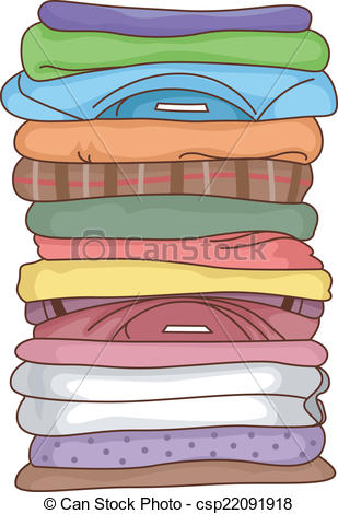 Folded    Csp22091918   Search Clipart Illustration Drawings And