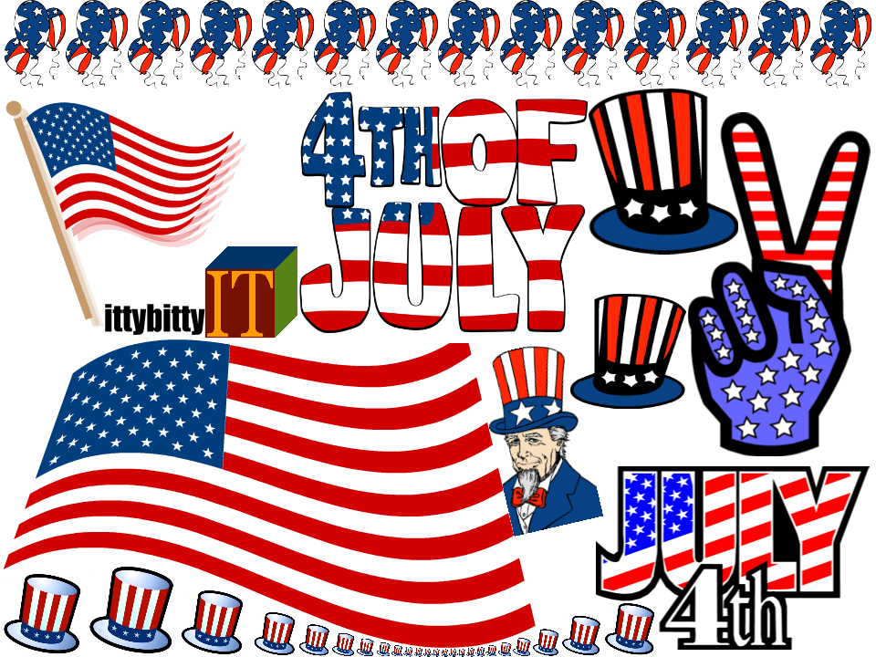 Fourth Of July 2014 Us Independence Day Clipart 4th July Clipart