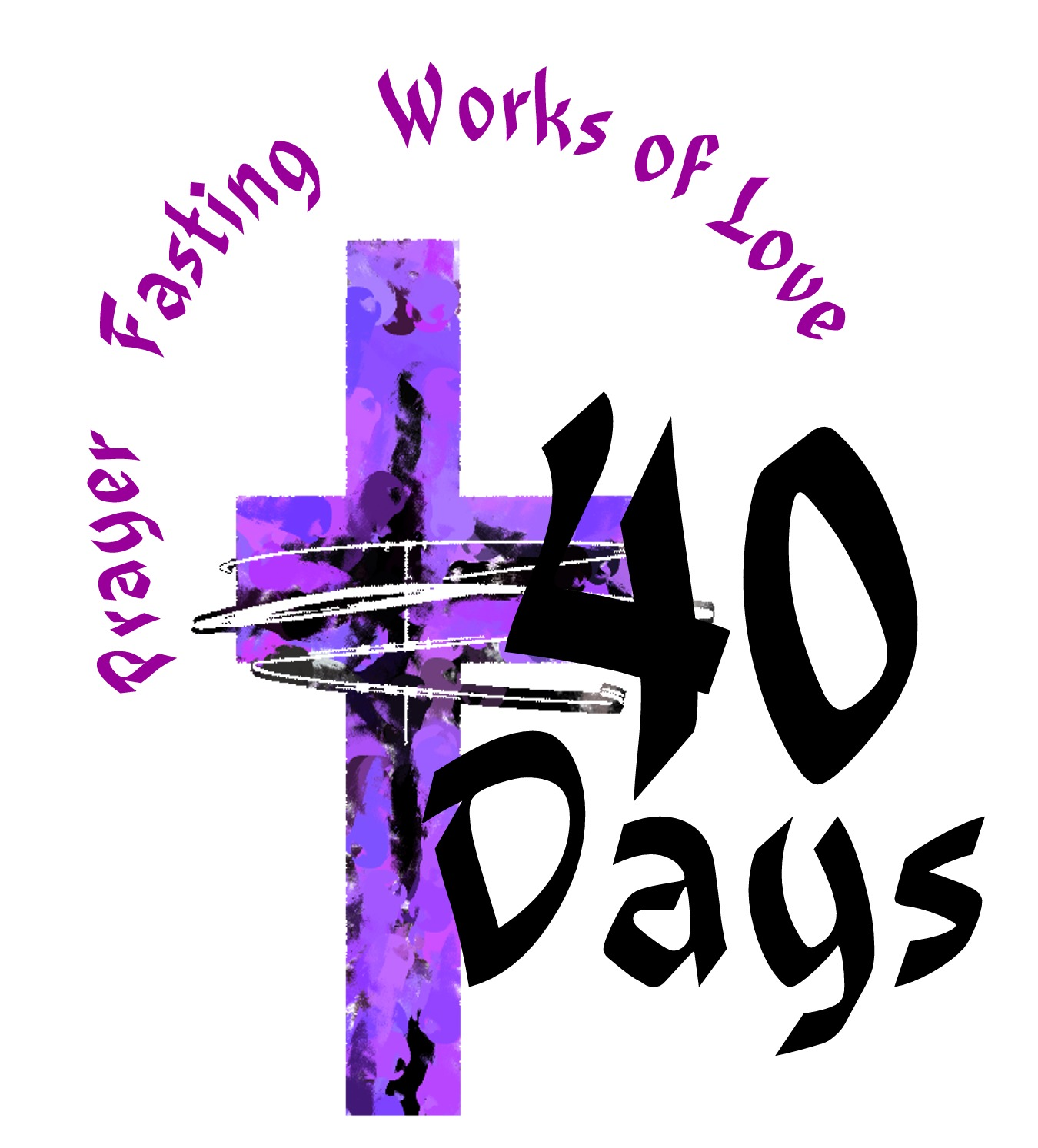 Lent Clipart   Printable Calendar Template
