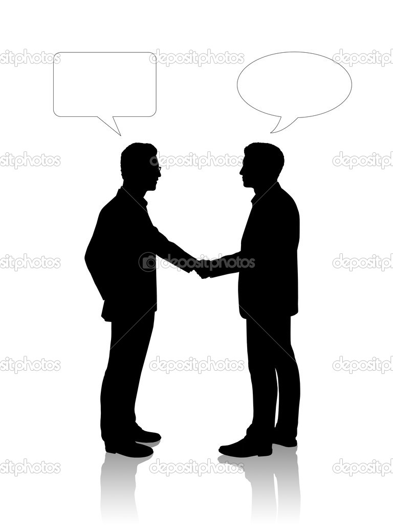 People Silhouette Shaking Hands   Clipart Panda   Free Clipart Images