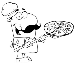 Pizza Chef Clip Art Images Pizza Chef Stock Photos   Clipart Pizza