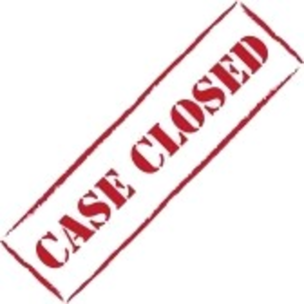 Red Stamp Case Closed   Free Images At Clker Com   Vector Clip Art